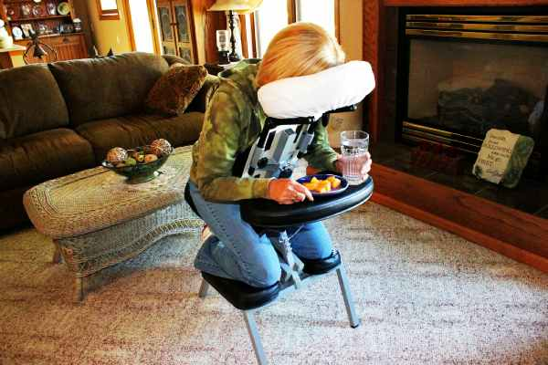 Vitrectomy Recovery Chair Face Down Sleep Support